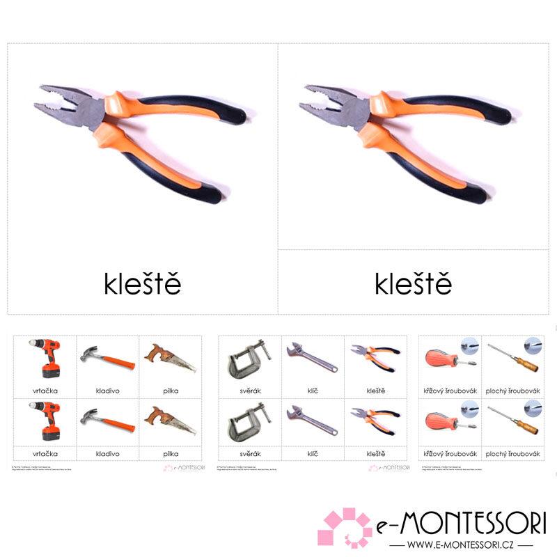 Montessori nářadí